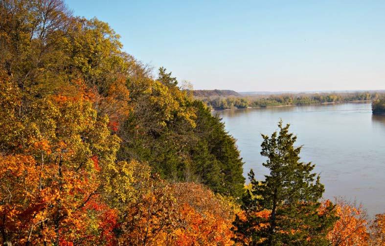 A Missouri River destination
